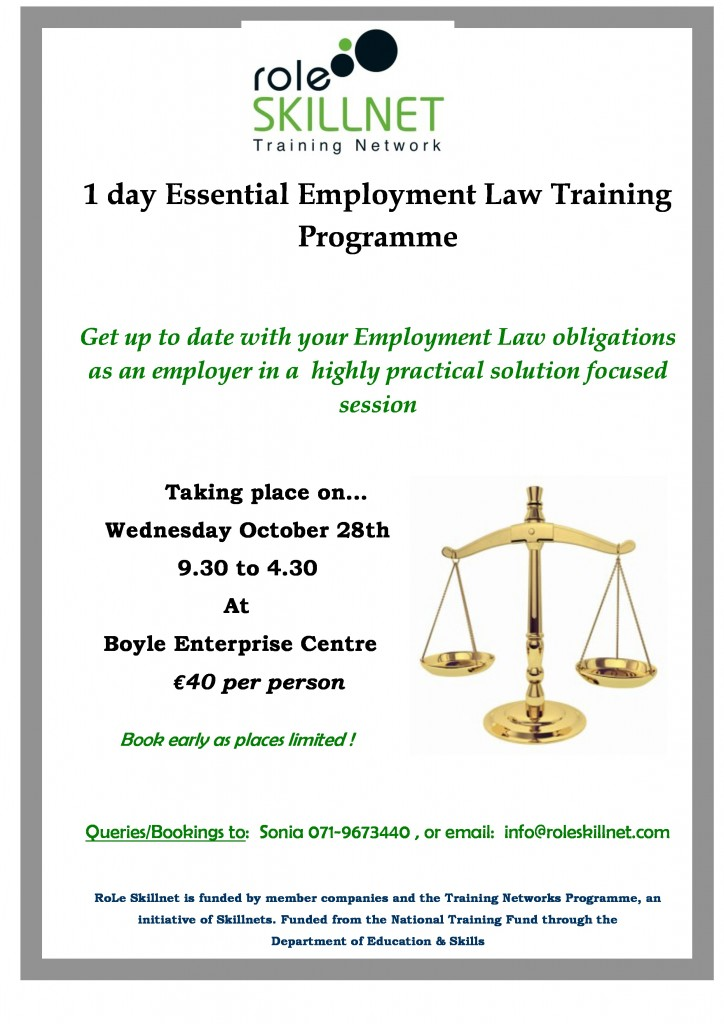a course on employment law Boost your knowledge in our employment law level 3 course study from home at your own pace with open study college enrol now.